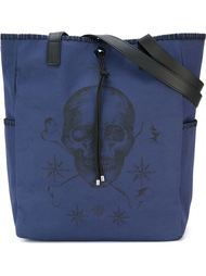 сумка-тоут с принтом черепа Alexander McQueen
