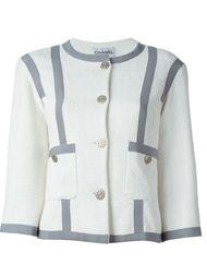 твидовый пиджак мешковатого кроя Chanel Vintage