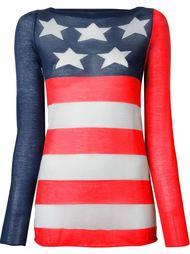 свитер с американским флагом Marc Jacobs