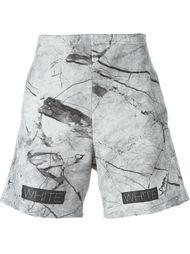 спортивные шорты с принтом Off-White