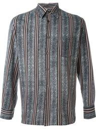 полосатая рубашка Comme Des Garçons Vintage