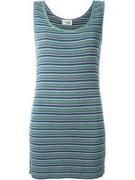 полосатое платье Missoni Vintage