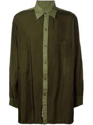 two-tone shirt Yohji Yamamoto