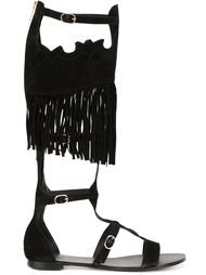 гладиаторские сандалии с бахромой 'Margot' Ash