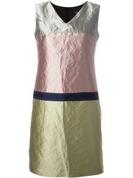 платье с эффектом металлик  Odeeh