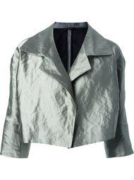 куртка с широкими лацканами Odeeh