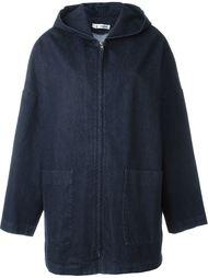 джинсовая куртка с капюшоном  Barena