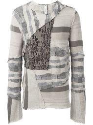 лоскутный свитер  Damir Doma