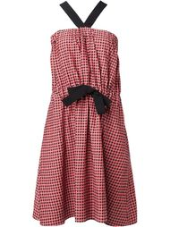 платье в клетку гингем Vanessa Bruno