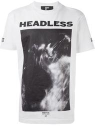 футболка с принтом спереди Hood By Air