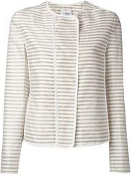 striped jacket Akris Punto