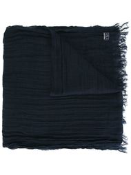 woven fringed scarf Woolrich