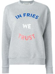 толстовка 'In fries we trust'  Être Cécile