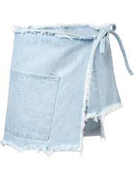 юбка с запахом 'Sabrina' Sandy Liang
