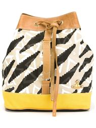 рюкзак с зебровым принтом  Vivienne Westwood Anglomania