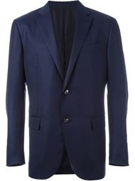 fitted single breasted suit jacket Ermenegildo Zegna