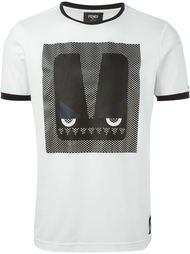 футболка с принтом Fendi