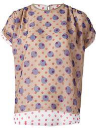 блузка в горошек Kolor