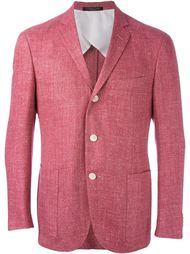 пиджак с застежкой на три пуговиц Corneliani