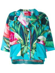 пижама с растительным принтом For Restless Sleepers