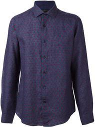 рубашка с узором в горох Corneliani