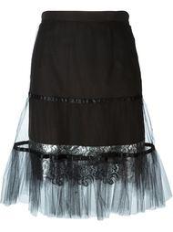 юбка с подолом из тюля Kolor