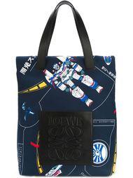 сумка-тоут 'Poly galaxy print' Loewe