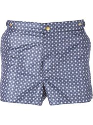 floral print swim trunks Eleventy