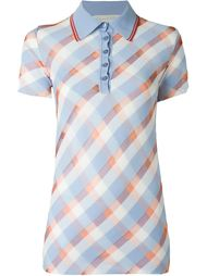 футболка-поло с узором  Stella McCartney
