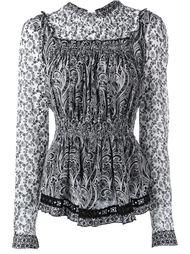 """блузка с узором """"пейсли"""" Fay"""