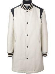 однобортное пальто в стиле бомбера Ports 1961
