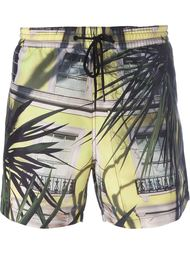 плавательные шорты с фото-принтом Paul Smith