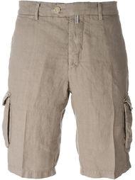легкие шорты карго  Kiton
