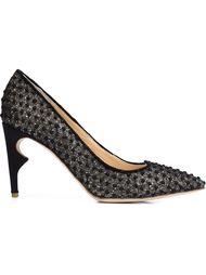 туфли 'Morier' на контрастном каблуке Jerome Rousseau
