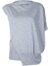 драпированный свитер 'Iris' Thomas Wylde