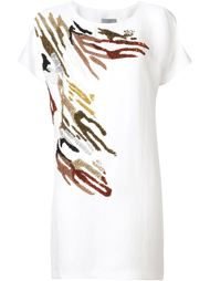 платье-футболка с пайетками Maiyet