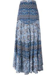 юбка макси с богемным цветочным принтом See By Chloé