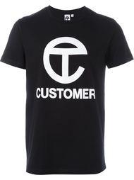 футболка с принтом  Telfar