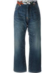 укороченные джинсы Junya Watanabe Comme Des Garçons