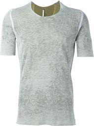 приталенная футболка с линялым эффектом Label Under Construction