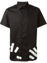 рубашка с вырезными деталями Christopher Shannon