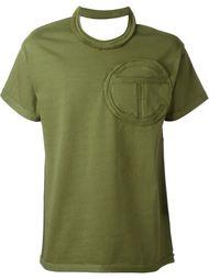 футболка с открытыми плечами  Telfar