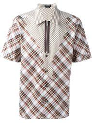 рубашка в клетку Raf Simons
