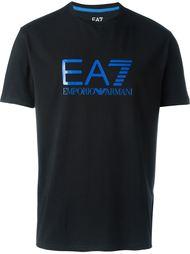 футболка с принтом логотипа   Emporio Armani