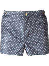 micro print swim shorts Eleventy