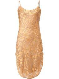 платье на бретельках с закругленным подолом Maiyet