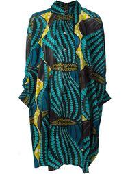 African print shirt dress Junya Watanabe Comme Des Garçons