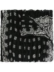 paisley print scarf Saint Laurent