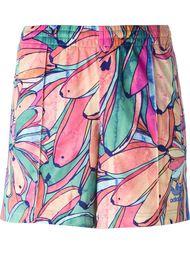 шорты с принтом бананов Adidas Originals