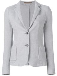 two button woven blazer Eleventy